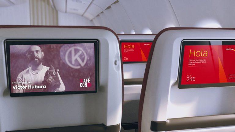 ¿Te gusta Kafé con K? Ahora puedes ver tus programas favoritos en las plataformas de entretenimiento de Iberia Express y Air Nostrum.